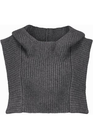Isabel Marant Palmer cropped wool and cashmere vest