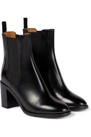 Isabel Marant Lanide leather Chelsea boots