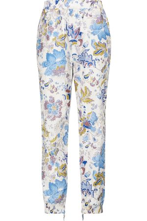 Isabel Marant Daloni floral high-rise sweatpants