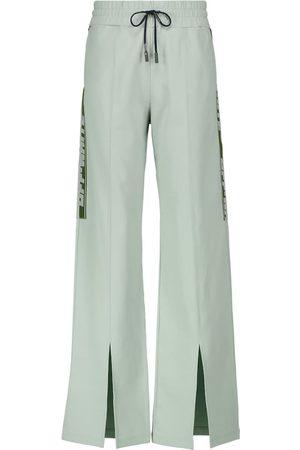 OFF-WHITE Slit logo sweatpants