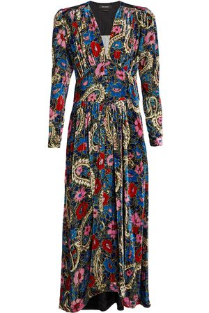 Isabel Marant Moyranid floral V-neck midi dress