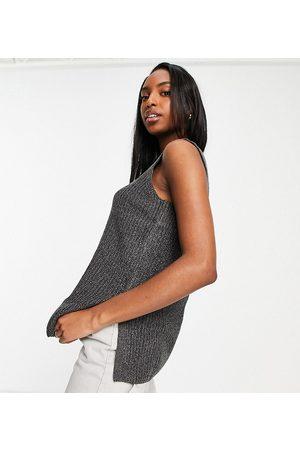 VERO MODA Women Vests - Longline knitted vest in dark