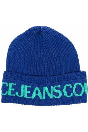 VERSACE Logo beanie hat