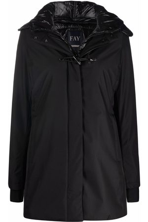 FAY Concealed hooded coat