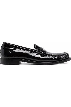 Saint Laurent 15 leather loafers