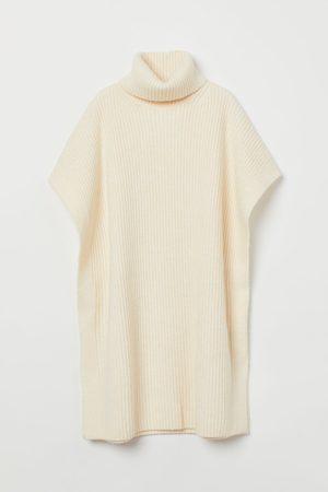H&M Rib-knit poncho