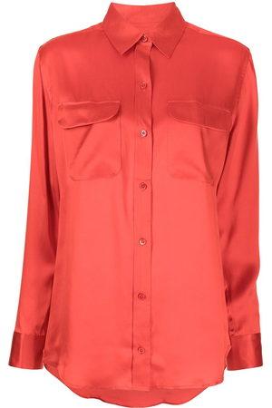 Equipment Women Long Sleeve - Signature silk shirt