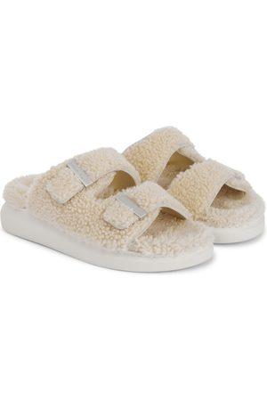 Alexander McQueen Women Sandals - Shearling slides