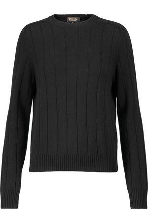 Loro Piana Ribbed-knit cashmere sweater