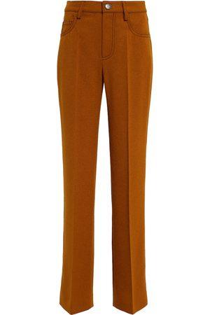 Nanushka Women Trousers - Basma felted straight pants