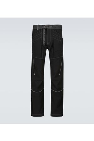 and wander Technical belted pants