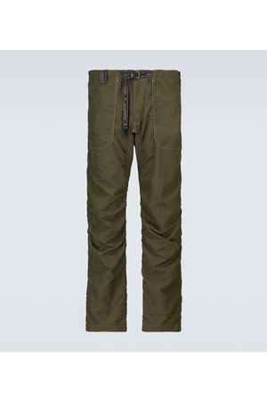 and wander Nylon belted pants