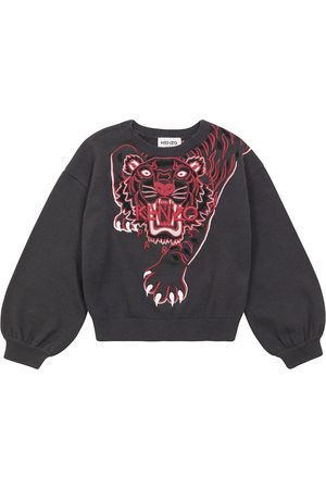 Kenzo Embroidered cotton-blend sweater