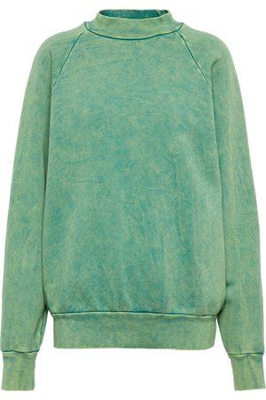 Les Tien Crewneck cotton sweatshirt