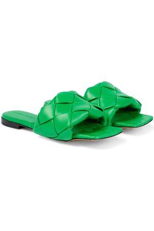 Bottega Veneta Lido leather slides