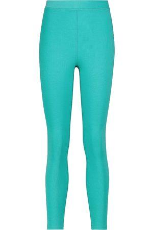 alo Women Leggings - Blissful high-waisted ribbed leggings