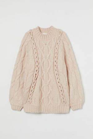 H&M Women Jumpers - Cable-knit jumper