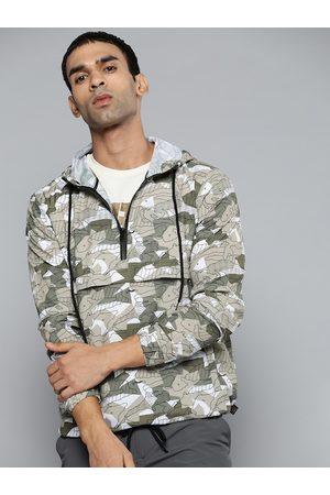 HRX Outdoor Men designer comment Packable Camouflage Jackets