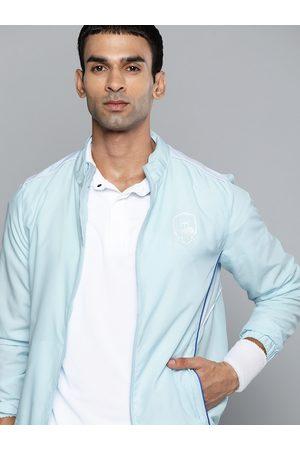 HRX Cricket Men Crystal Blue Rapid-Dry Jacket