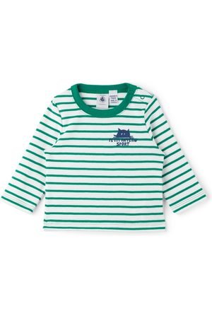 Petit Bateau Baby & Striped Long Sleeve T-Shirt