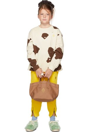 The Animal Observatory Kids & Brown Cow Marmot Shirt