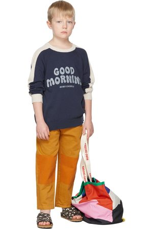 Bobo Choses Kids Color Block Chino Trousers