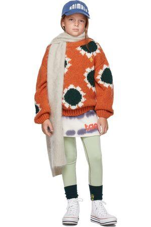The Animal Observatory Girls Skirts - Kids White & Tie-Dye Dove Skirt