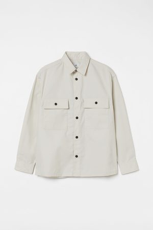 H&M Relaxed Fit Water-repellent shirt jacket