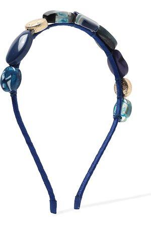 Forever 21 Women Blue Embellished Hairband