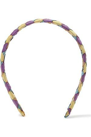 Forever 21 Women Violet & Cream-Coloured Hairband