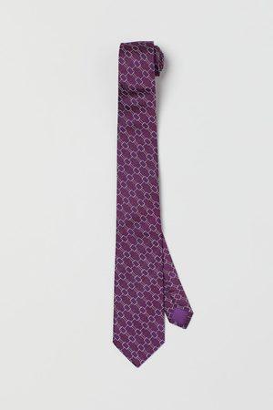 H&M Men Neckties - Mulberry silk tie