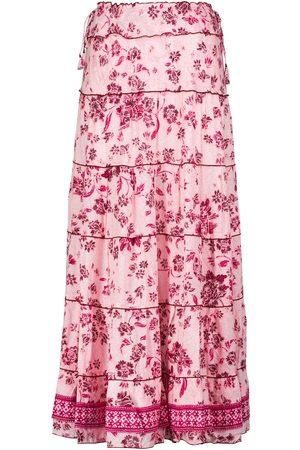 POUPETTE ST BARTH Camila floral maxi skirt