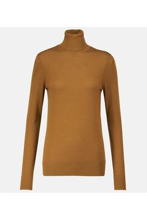 Chloé Women Turtlenecks - Turtleneck wool sweater