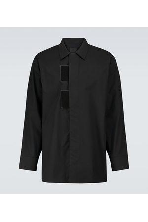 Givenchy Men Long Sleeve - Long-sleeved cotton shirt