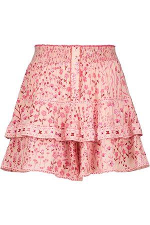 POUPETTE ST BARTH Camila floral miniskirt
