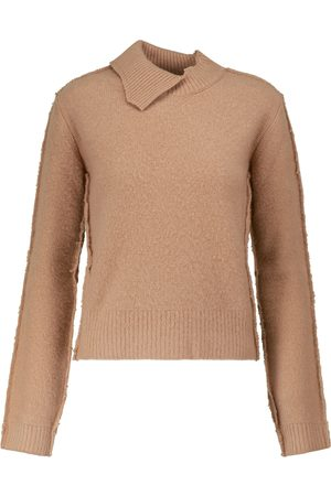 Marni Reversed wool and cashmere sweater