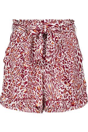 POUPETTE ST BARTH Rachel leopard-print shorts
