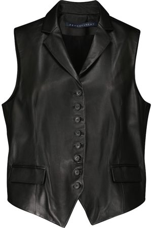 Zeynep Arcay Women Leather Jackets - Leather vest