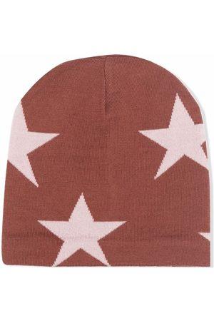 Molo Star print beanie hat