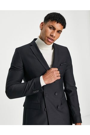 French Connection Skinny fit double breasted suit jacket
