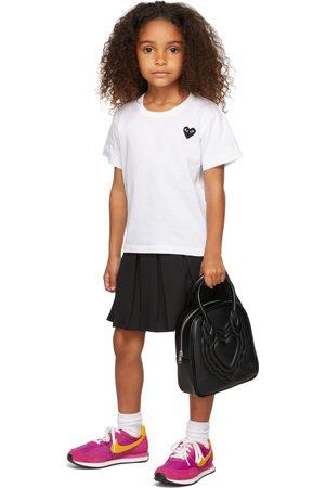Comme des Garçons Short Sleeve - Kids & Black Patch T-Shirt