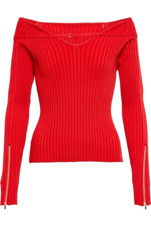 Jacquemus La Maille Oro ribbed-knit sweater