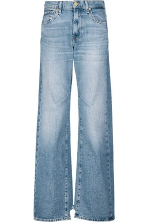 7 for all Mankind Tess high-rise wide-leg jeans