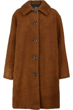 A.P.C. Wool and cotton coat