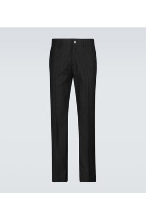 Burberry Dover checked cotton pants
