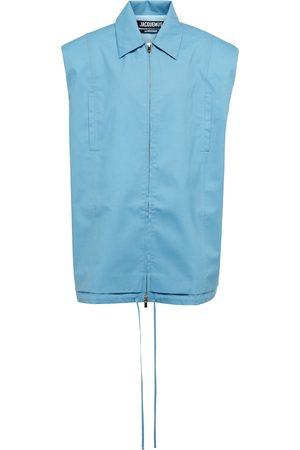 Jacquemus Le Gilet Biella cutout wool vest