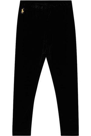 Ralph Lauren Logo-embroidered straight pants
