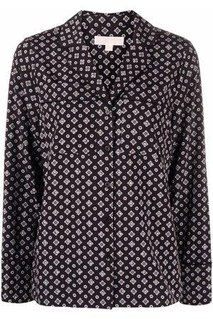 Michael Kors Women Long Sleeve - Long-sleeved buttoned-up shirt