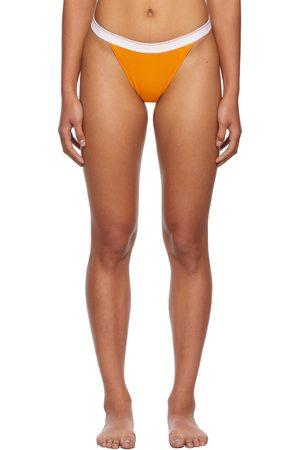 Calvin Klein Women Socks - Orange Season 2 High-Leg Thong
