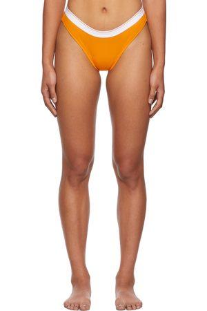 Calvin Klein Women Briefs - Orange Season 2 Rib Knit Briefs